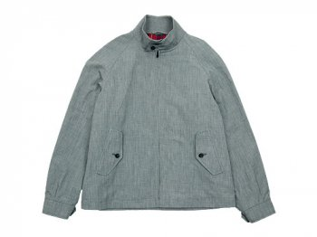 MARGARET HOWELL COTTON LINEN END ON END BLOUSON 020GRAY 〔メンズ〕