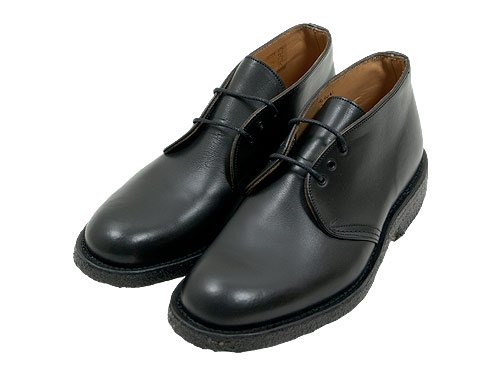 MARGARET HOWELL CHUKKA BOOTS 010BLACK 〔メンズ〕