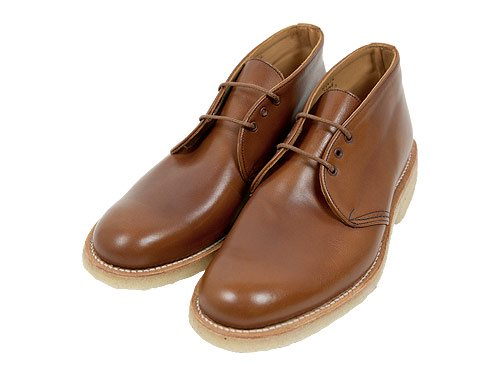 MARGARET HOWELL CHUKKA BOOTS 050BROWN 〔メンズ〕