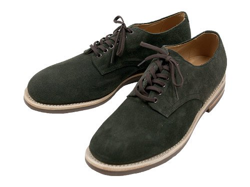 MARGARET HOWELL SUEDE DERBY SHOES 024DARK CHARCOAL 〔メンズ〕