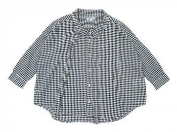 ordinary fits BARBAR SHIRT BLACK CHECK