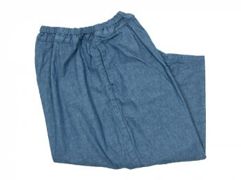 ordinary fits BALL PANTS CHAMBRAY BLUE