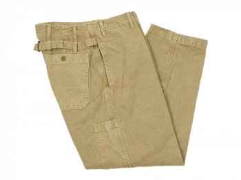 ordinary fits FRENCH CROPPED PANTS DUCK BEIGE