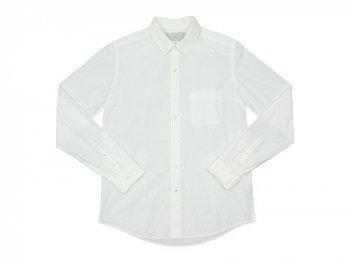 MUYA 80/2 アトリエシャツ OFF WHITE