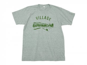 【別注】 ENDS and MEANS Village Tee GRAY