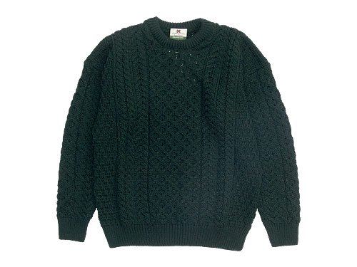 CARRAIG DONN CREW KNIT 193GREEN