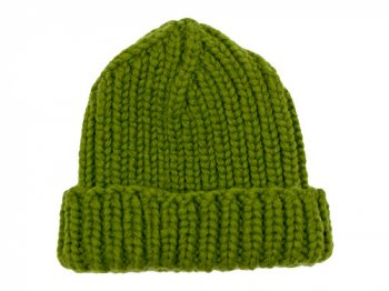 VICTORIA WOOLEN MILL PLAIN HAT MOSS GREEN