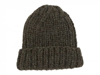 VICTORIA WOOLEN MILL PLAIN HAT DARK BROWN