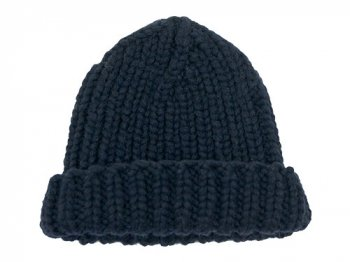 VICTORIA WOOLEN MILL PLAIN HAT NAVY