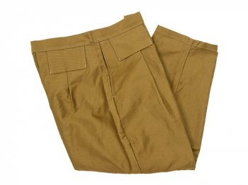 TUKI tapered pants 29mustard