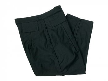 TUKI tapered pants 09black