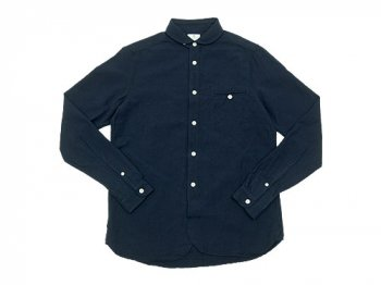 maillot sunset round work shirts NAVY