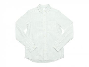 maillot sunset gingham B.D. shirts WHITE x WHITE