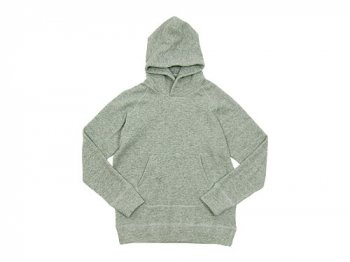 maillot wool sweat pull parka GRAY