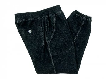 maillot wool sweat pants NAVY