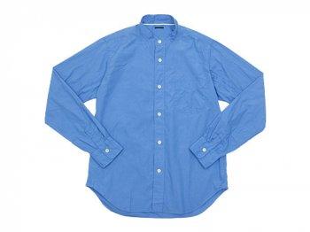 maillot b.label broad stand collar shirts SAX