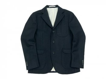 maillot b.label melton jacket NAVY