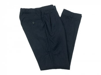maillot b.label melton easy pants NAVY