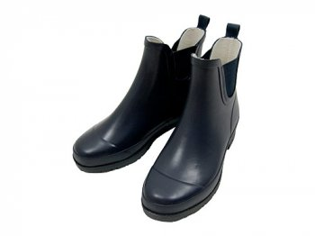 MHL. PVC ANKLE BOOTS 120NAVY 〔レディース〕