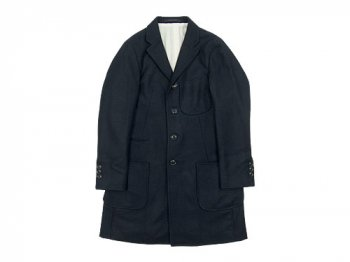 maillot b.label melton work coat NAVY