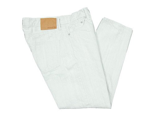 ordinary fits DENIM CROPPED PANTS WHITE OFF WHITE