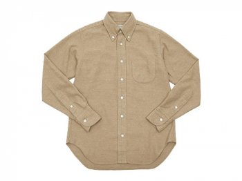DAILY WARDROBE INDUSTRY NEW STANDARD B.D. SHIRT BEIGE