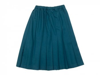 Charpentier de Vaisseau Pleated Skirt Wool BLUE