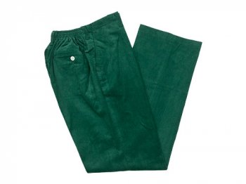 Charpentier de Vaisseau School Pants Corduroy DARK GREEN