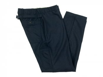 ordinary fits FRENCH WORK PANTS WOOL NAVY