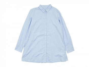ordinary fits PIN TUCK SHIRT BLUE