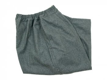 ordinary fits BALL PANTS WOOL GRAY