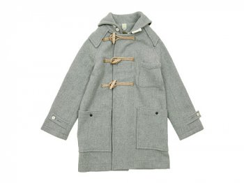 TATAMIZE DUFFLE COAT LIGHT GRAY
