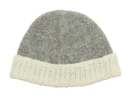 TATAMIZE HAND MADE KNIT CAP GRAY