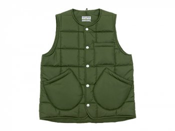ENDS and MEANS Quilting Vest OLIVE