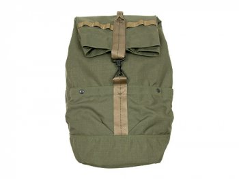 ENDS and MEANS Refugee Duffle Bag RANGER GREEN