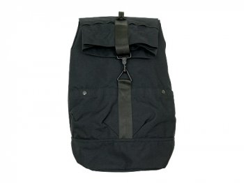 ENDS and MEANS Refugee Duffle Bag BLACK