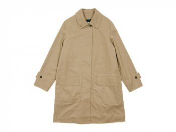 MARGARET HOWELL WORN COTTON TWILL COAT 044BEIGE 〔レディース〕