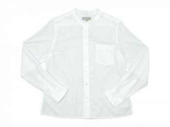 MARGARET HOWELL WASHED COTTON SHIRTS 030WHITE 〔レディース〕