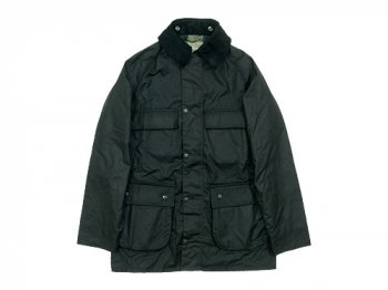 MARGARET HOWELL OILED POPLIN JACKET 010BLACK〔メンズ〕