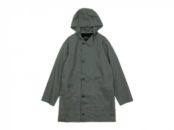 MARGARET HOWELL PROOFED COTTON COAT 020GRAY〔メンズ〕