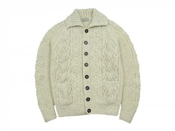 MARGARET HOWELL INVERALLAN KNIT 031NATURAL〔メンズ〕