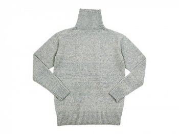 TOUJOURS Turtle-Neck Pullover GRAY