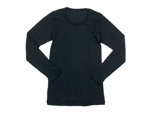 Tam Silk LONG SLEEVE BLACK