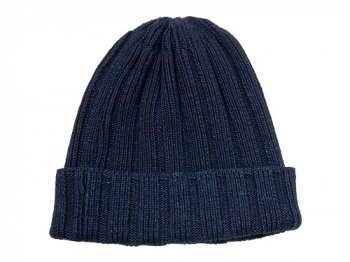 maillot indigo cotton knit cap ダークインディゴ