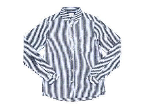 maillot sunset stripe B.D. shirts BLUE x WHITE