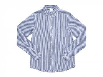 maillot sunset stripe B.D. shirts BLUE x WHITE
