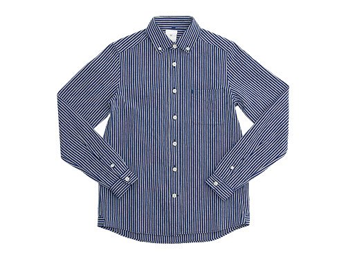 maillot sunset stripe B.D. shirts NAVY x BLACK