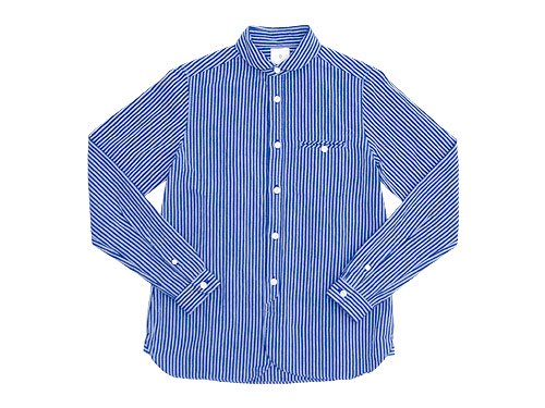 maillot sunset stripe round work shirts BLUE x BLUE