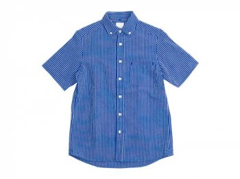 maillot sunset stripe B.D. S/S shirts BLUE x BLUE