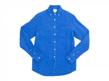 maillot sunset linen B.D. shirts BLUE